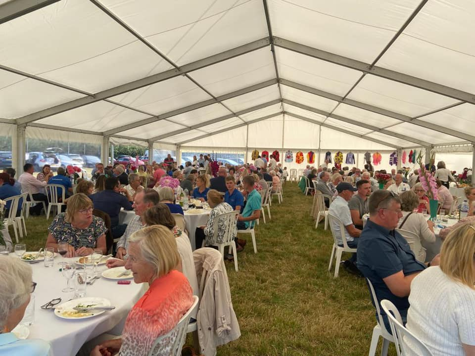 Lunch In the Marquee