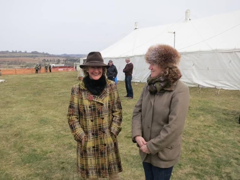 Cotswold race secretary Gill Abbott