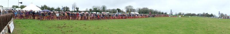 There were some people at the point to point yesterday