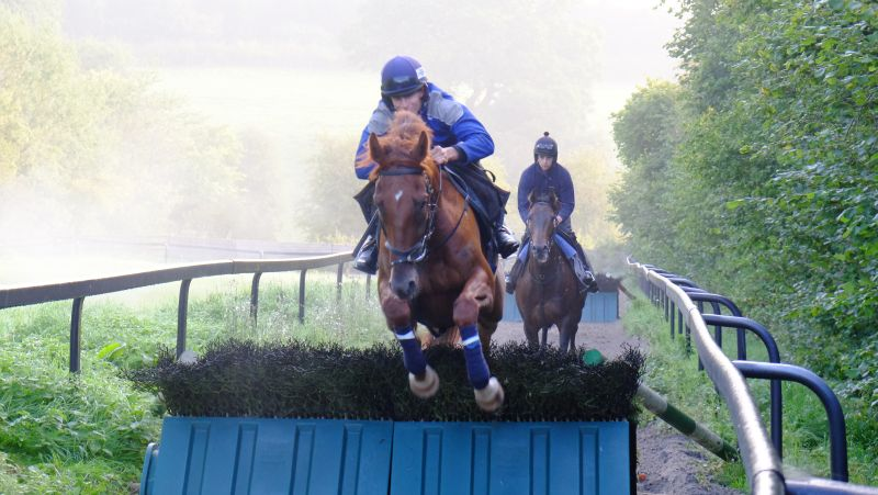 Clive Washbourn's Gold Man and Ed Cookson