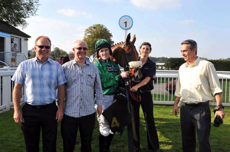 Craig and Keith with PC and another happy owner Phil ...even at Worcester!