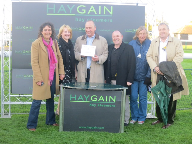 Happy owners and prize giving