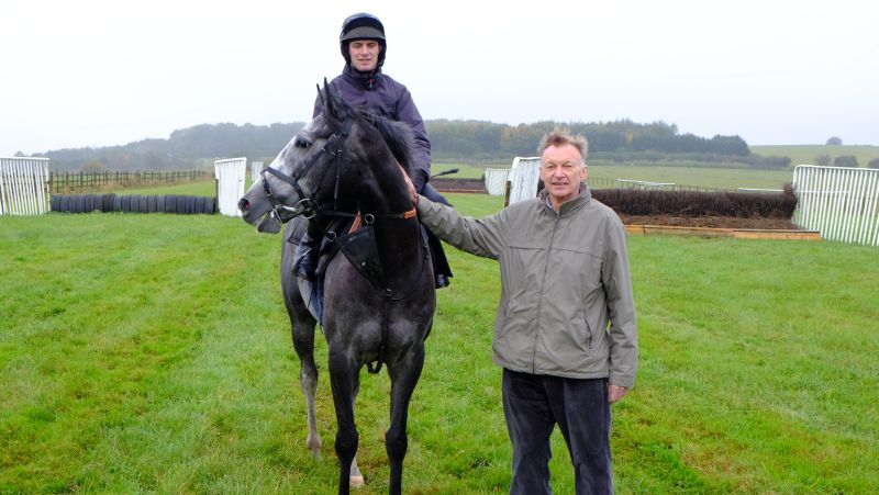 Sunblazer and his owner Colin Stewart