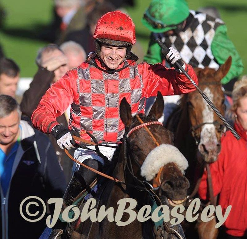 Charingworth coming into the winners enclosure at Cheltenham