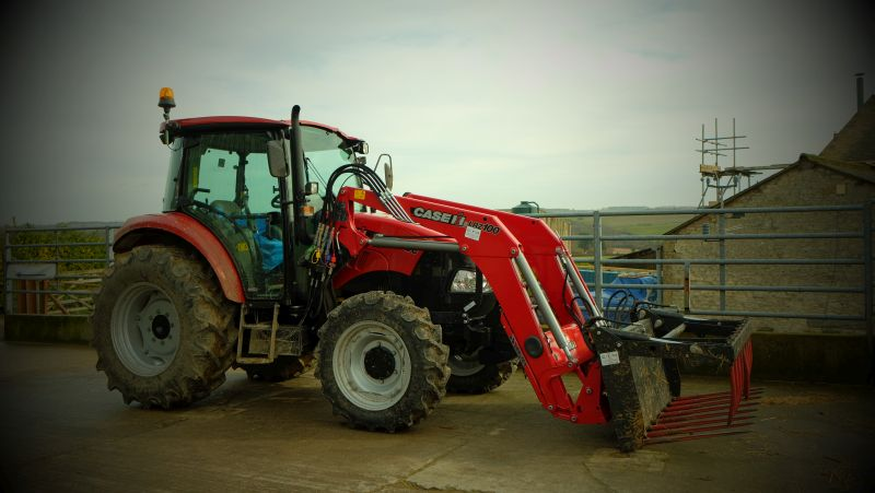 The NEW tractor.. stunning?