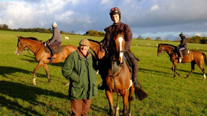 John Stanley with his horse Boolavard King