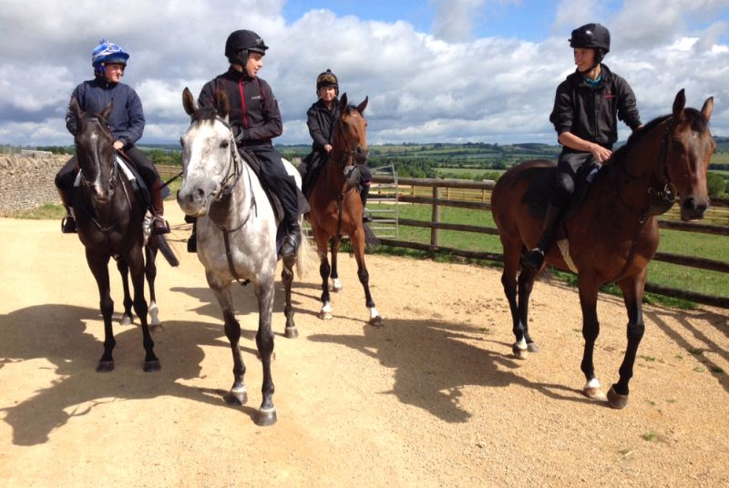 Milord, Silver Eagle Gaelic Myth and DidntItellyou coming back from excercise