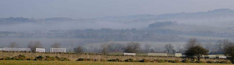 This was the view first thing looking towards Winchcombe