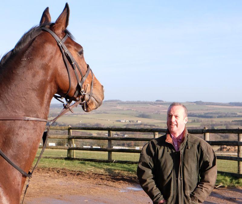 Trojan Star and his owner Mat Lambert