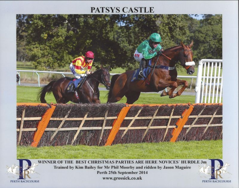 Patsys Castle at Perth yesterday.. Winner..
