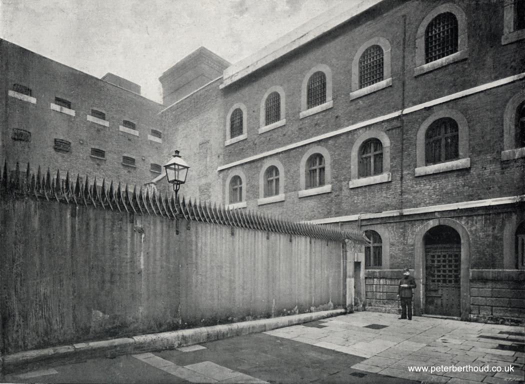 A Grim View Inside Newgate Prison In The 1890s Blog