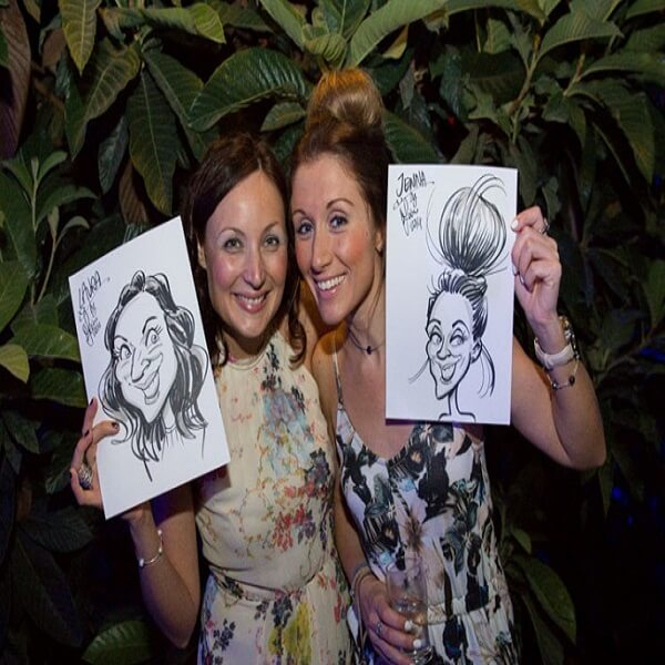Charlie and the Chocolate Themed Caricaturist