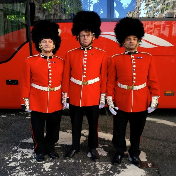 Comedy Royal Guards British Themed Party