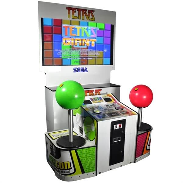 SEGA GIANT TETRIS ARCADE GAME
