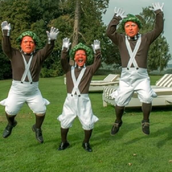 Oompa Loompa Dwarfs Charlie and the Chocolate Factory