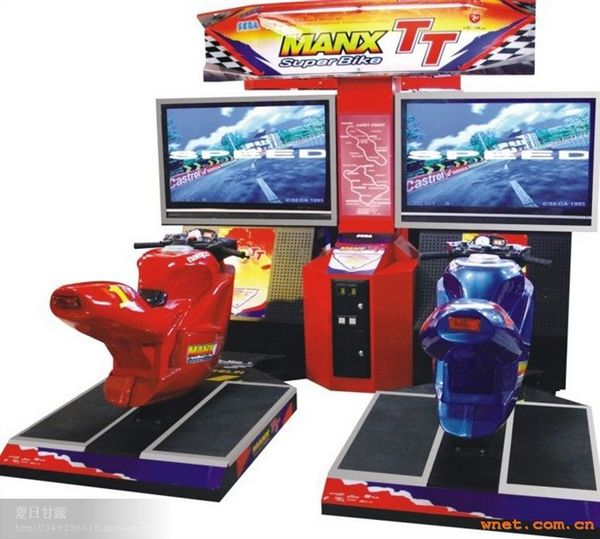 Video Arcade Game Manx TT