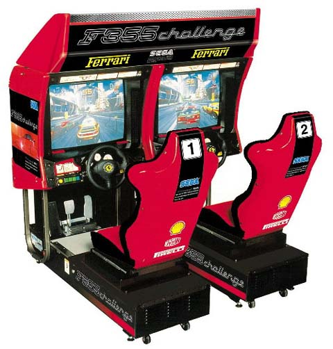 Video Arcade Game Sega Ferrari 355 Twin