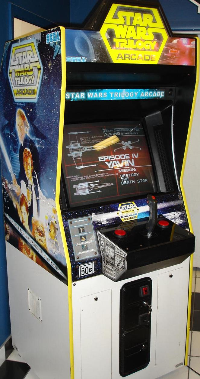 Video Arcade Game Star Wars Trilogy
