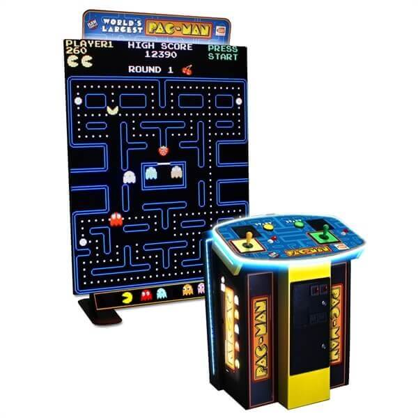 World's Largest Pac Man Arcade