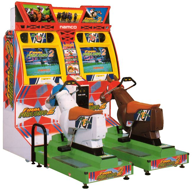 Video Arcade Game Final Furlong