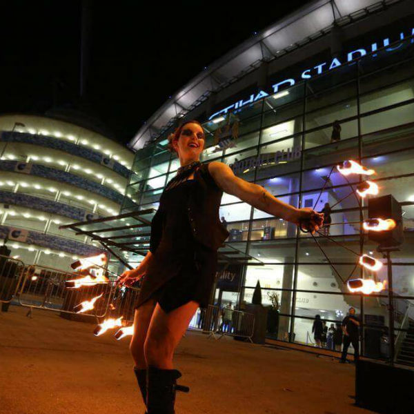 Ambient and Freestyle Performer at Manchester City Stadium