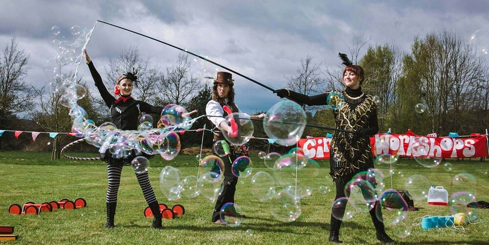 Bubble Performer Hire London