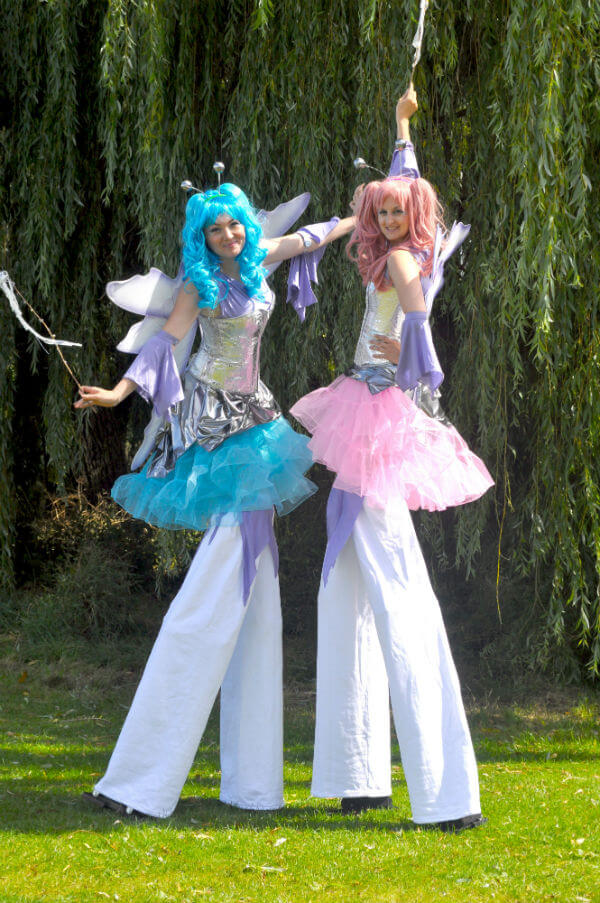 Fairy Stilt walkers