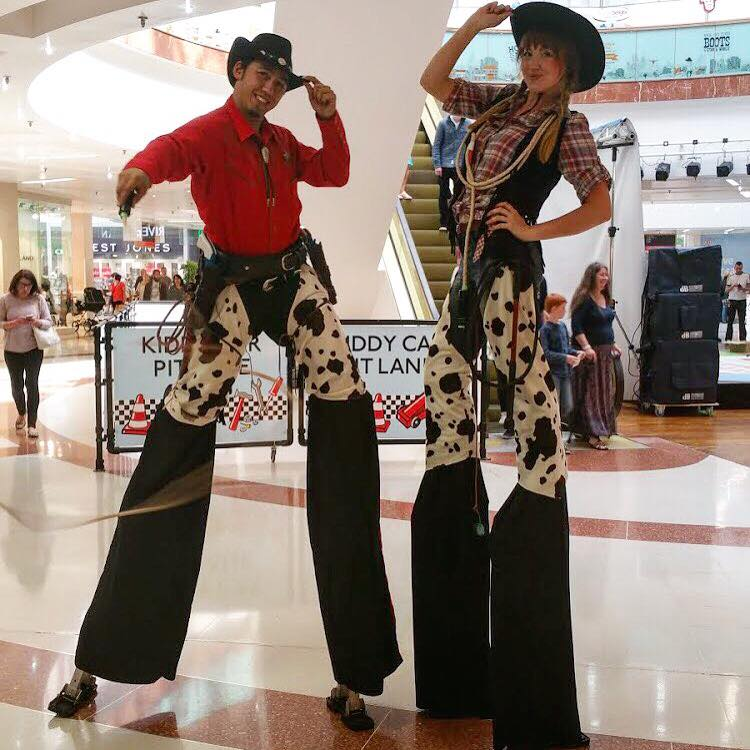 Wild West Stilt walkers