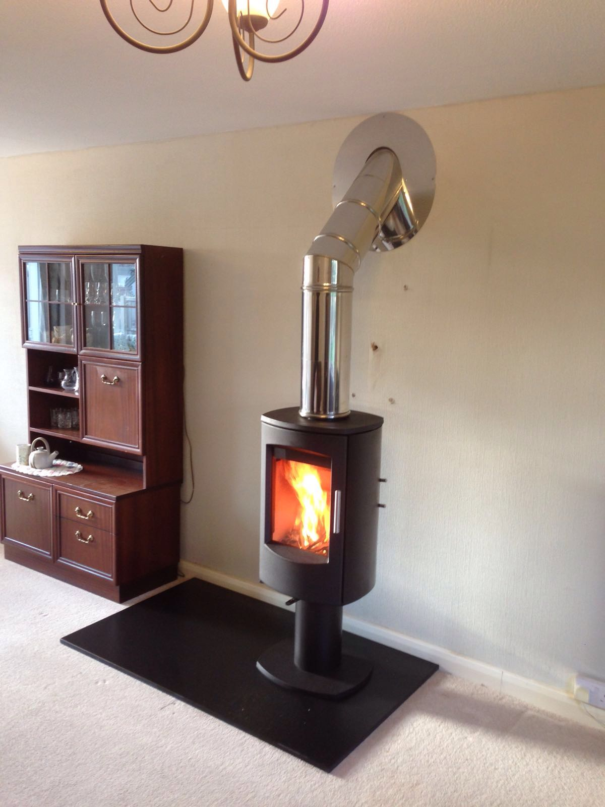 Embers Bristol stove istallation