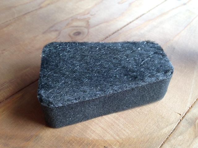 Embers Bristol Stove installers dry wipe sponge