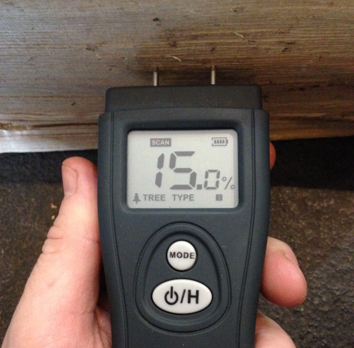 moisture meters a must for log burners in bristol