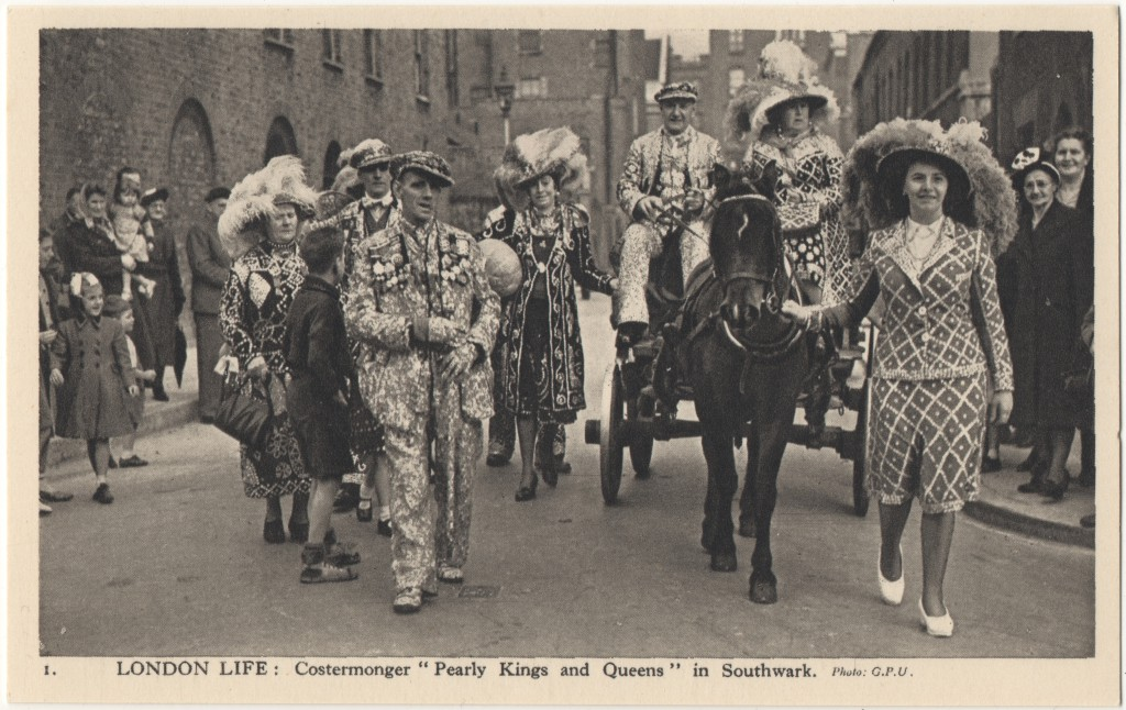 "1. London Life: Costermonger ""Pearly Kings and Queens"" in Southwark"