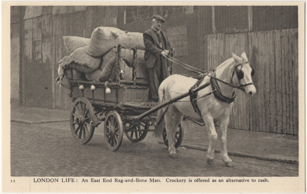 11. London Life: An East End Rag-and-Bone Man. Crockery is offered as an alternative to cash