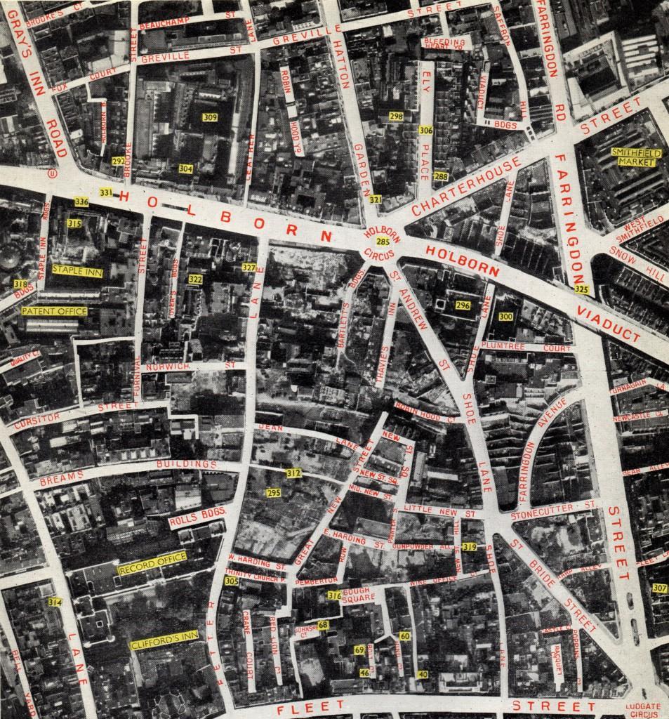 Air Photo Atlas of London Holborn