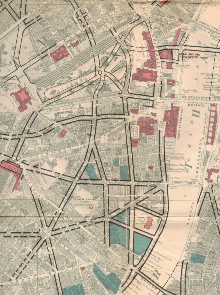 Arthur Cawston vision for St James's Park