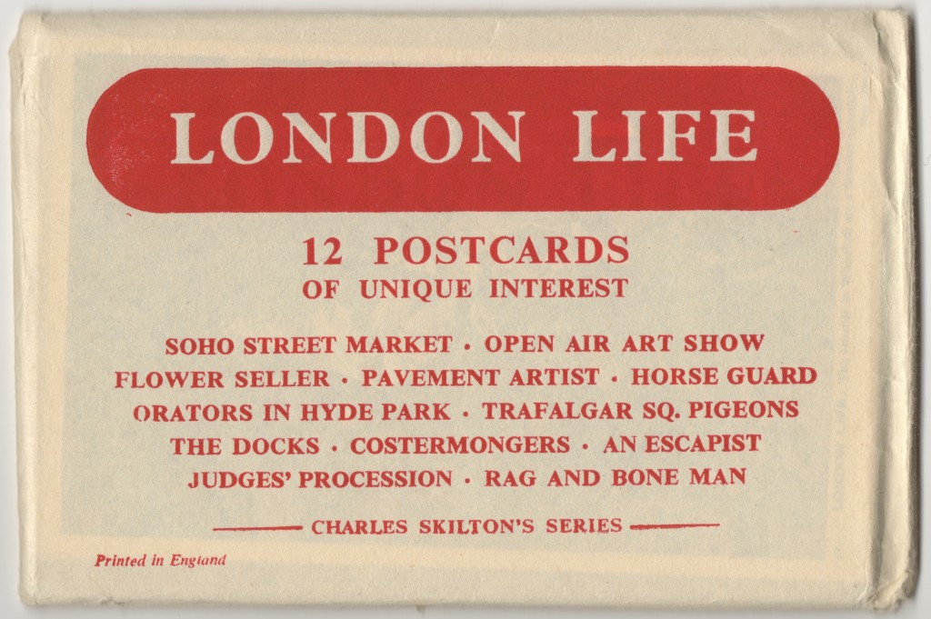 London Life: An original presentation envelope