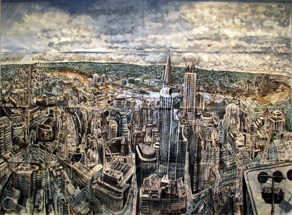City of London from Searcys at The Gherkin (Looking South) by Ed Gray