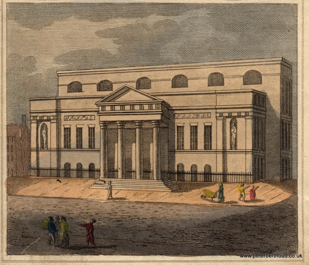 Covent Garden Theatre 1824