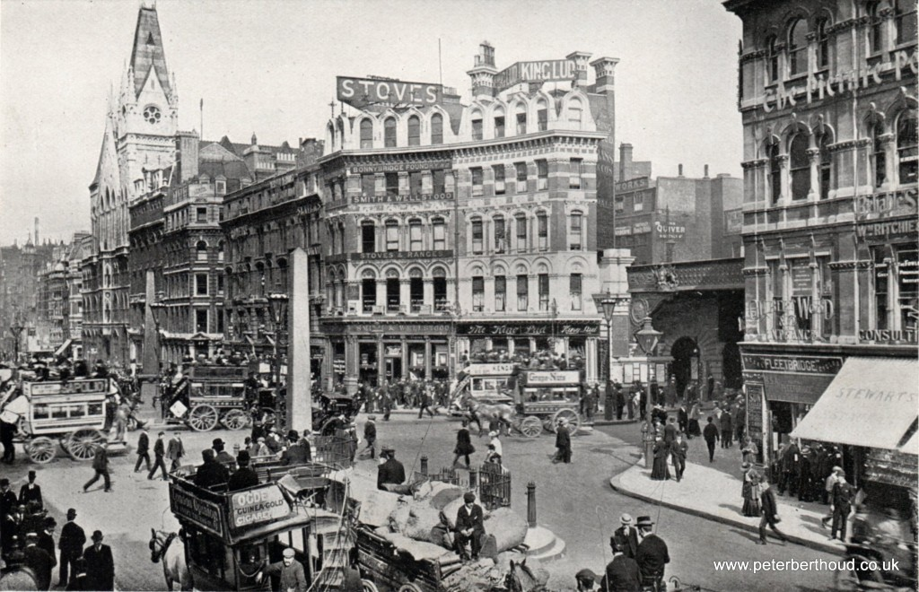 Edwardian London Ludgate Circus