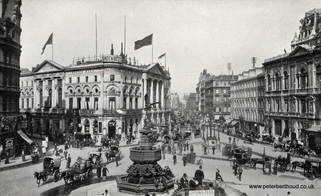 Edwardian London Piccadilly Circus