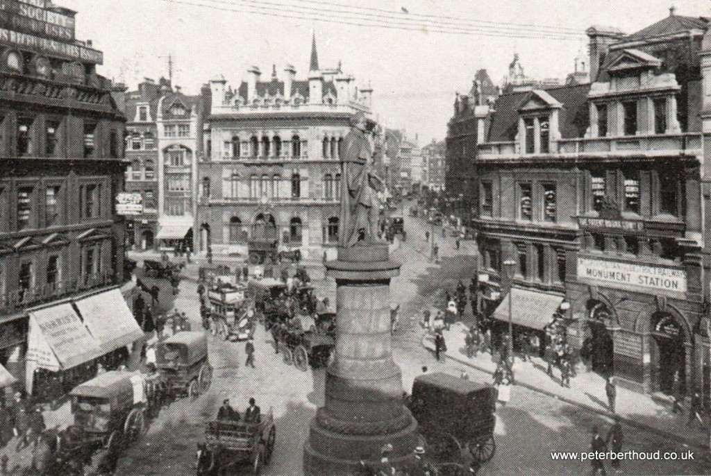 Edwardian London Gracechurch Street and Eastcheap