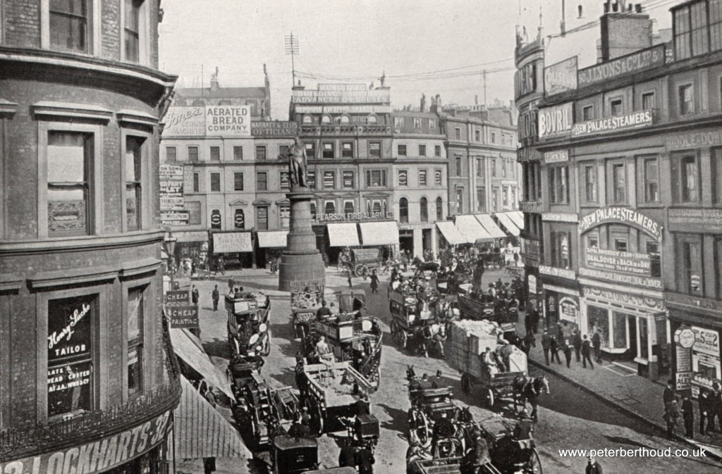 Edwardian London King William Street