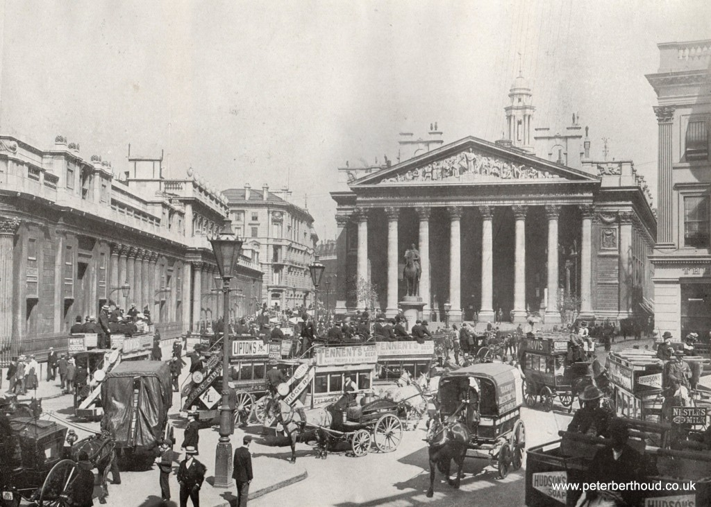 Edwardian London The Royal Exchange