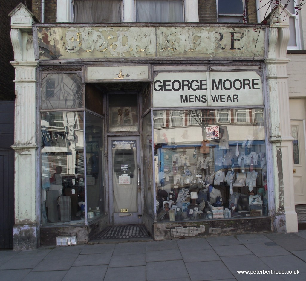 George Moore Menswear Myddleton Road