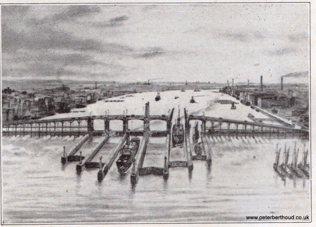 First Gulls-Eye Vision of Woolwich Barrage – 1932