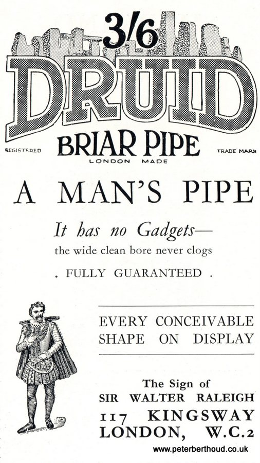 Druid Briar Pipe