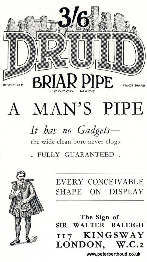 Druid Briar Pipe