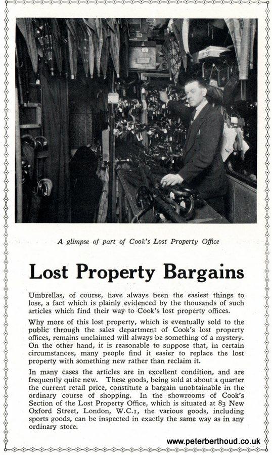 Lost Property Bargains