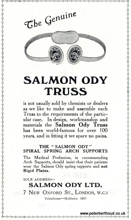 Genuine Salmon Ody Truss