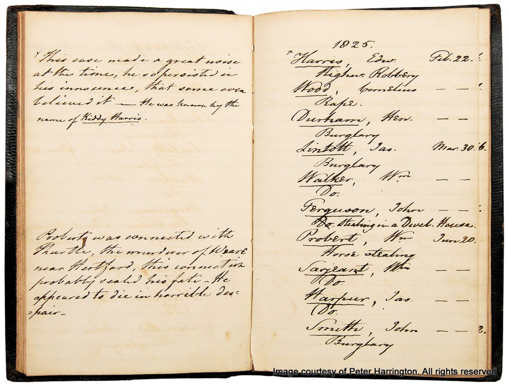 Inside Newgate Prison Execution Journal